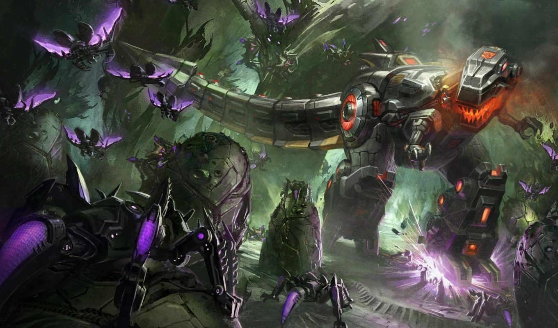 transformers, grimlock, fall, cybertron, dinobots, games,