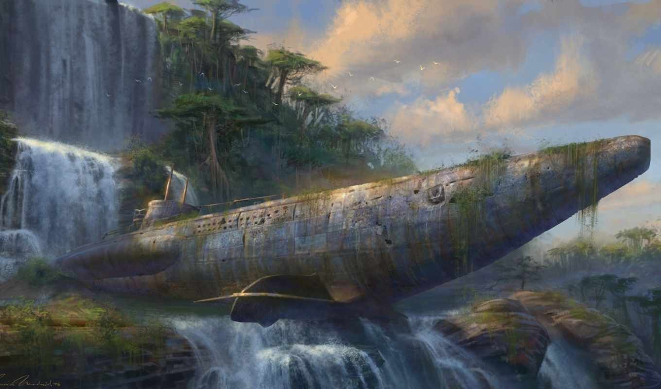 uncharted, art, the, concept, drake, fortune, by,