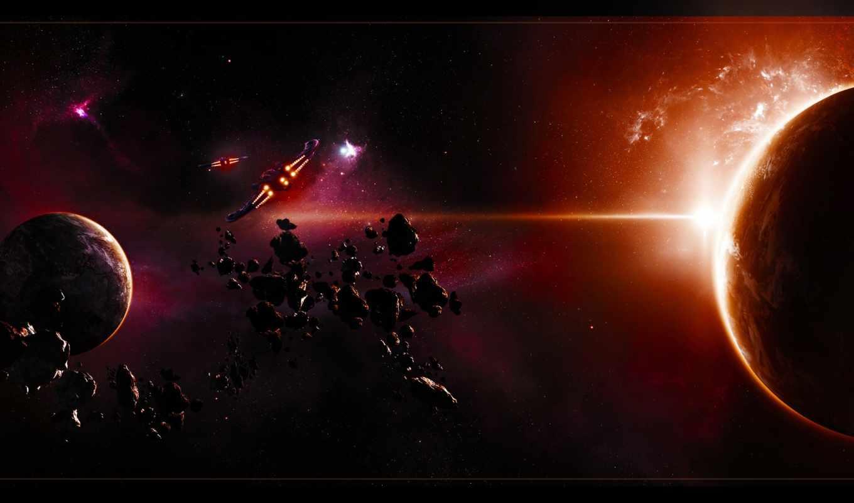 корабли, астероиды, планеты, туманность, space, планета, картинка, asteroid, кнопкой, космическая, война, правой, картинку, мыши, выберите, разрешением, скачивания, save, ней,