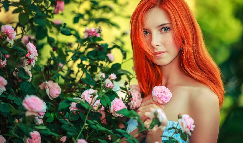 рыжих, макияж, коллекцию, посмотрите, яndex, коллекциях, глазами, зелёными, roses,