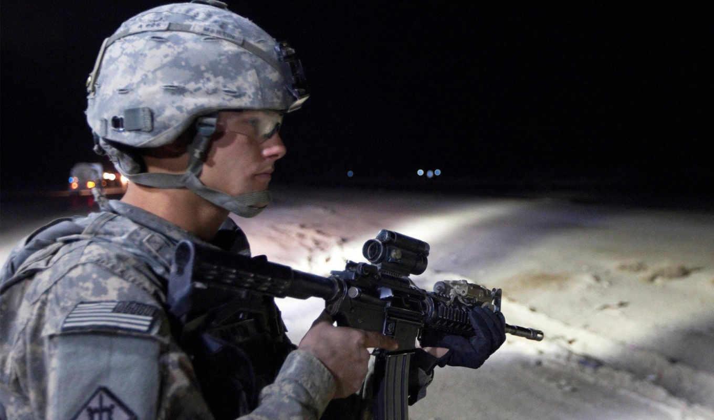 американский, армия, ирак, последний, смотритель, оружие, дек, техника, construction,
