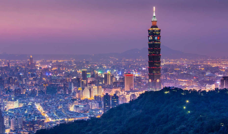 города, china,