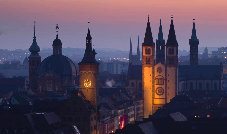Обои германия, Würzburg, deutschland, вюрцбург. Города foto 13