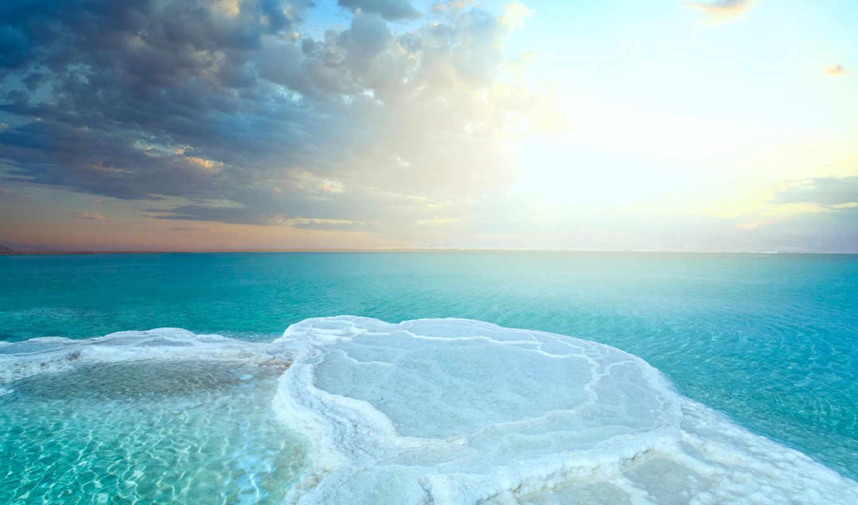 море, dead, salt, jordan, ниже,