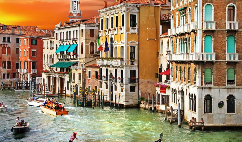 canal, venice, grand, venezia, italian, канал, italy, гранд, город, grande,
