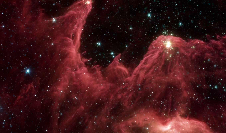 космос, звезды, туманность, кассиопея, вселенная,