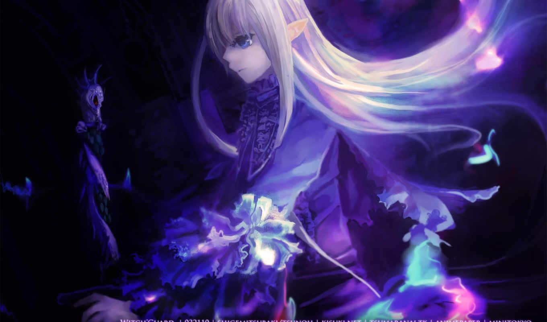 original, anime, art, kisuki, witch,