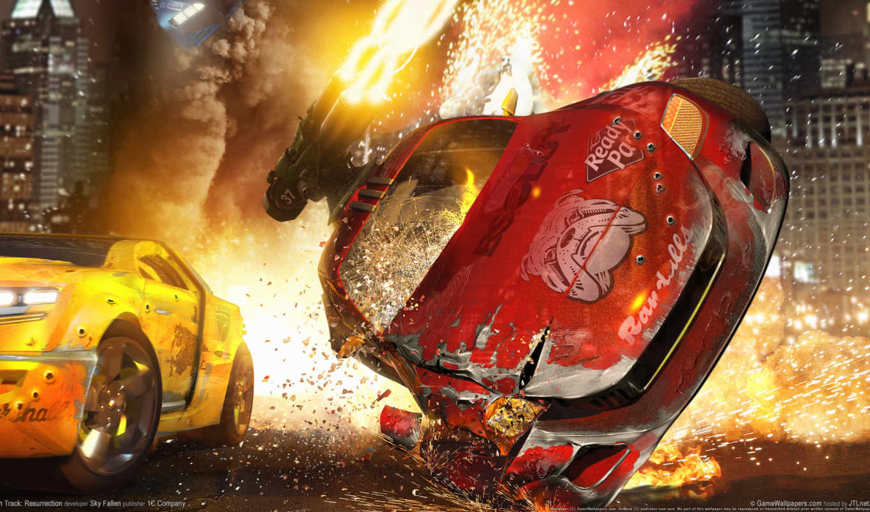 авария, огонь, смерть, трек, race, resurrection,