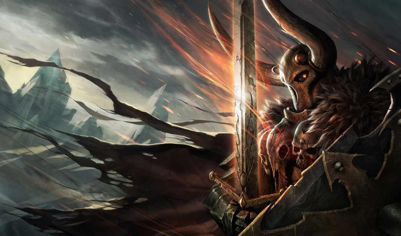 архаон, конца, времён, lord, хаоса, warhammer, greatest, powerful, самый,