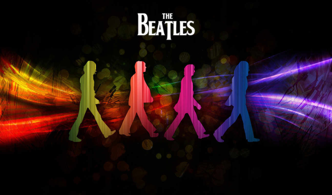 beatles, битлз, музыка, тени, desktop, click, background,
