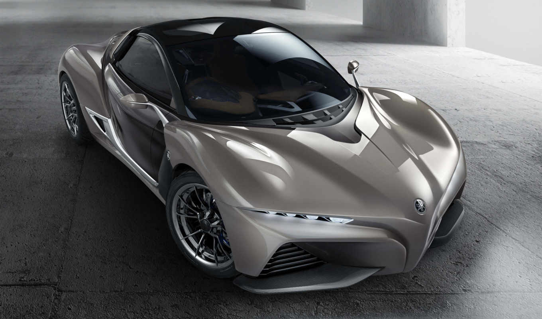 yamaha, sports, прокатиться, concept, coupe, представила, company, motor,