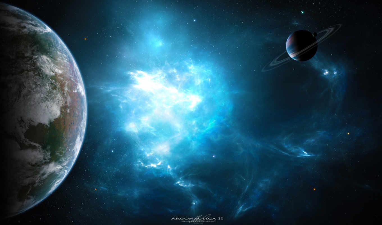 космос, планеты, картинка, туманость, картинку, арт, туманность,