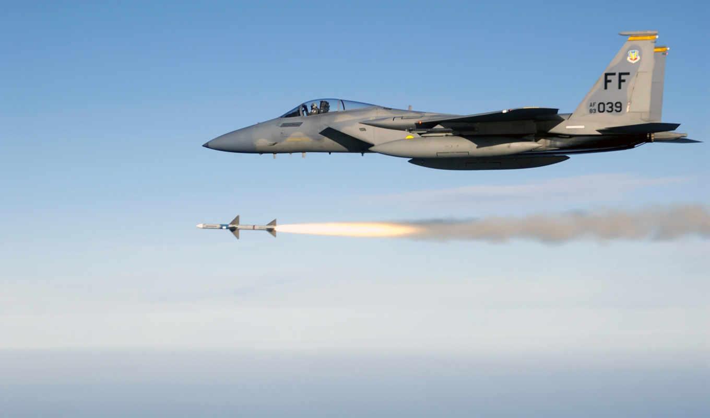 самолёт, истребитель, missiles, mcdonnell, douglas, орлан, air, jets, реактивный,