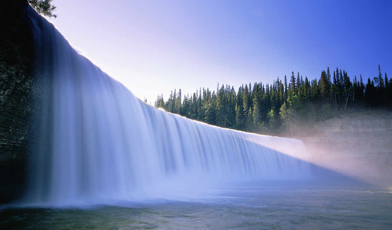 красивые, водопад, самые, качественные, красивый, priroda, пейзажи -,