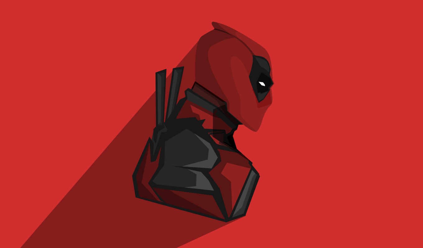 minimal, deadpool, superheroes, comics, pinterest, desktop, indir,