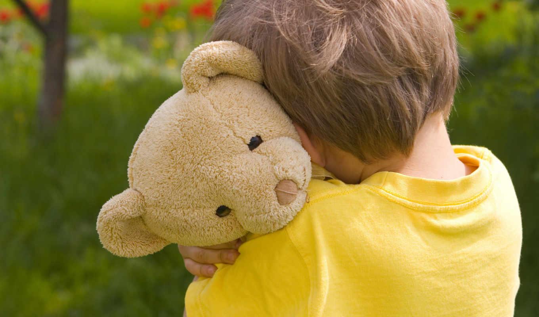 мальчик, teddy, bear, плюшевого, мишку, обнимает, hugging, download, грусть, ребенок, маленький, детство, грустно, одиночество, дети,
