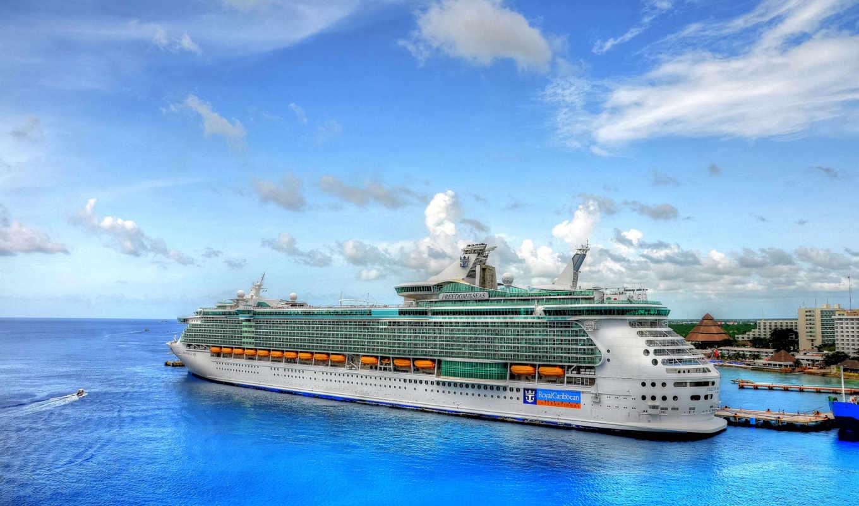 корабль, лайнер, корабли, море, ежедневно, красивые,