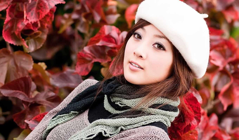 девушка, девушки, берете, люблю, азиатской, красивом, внешности, тебя, taiwan,