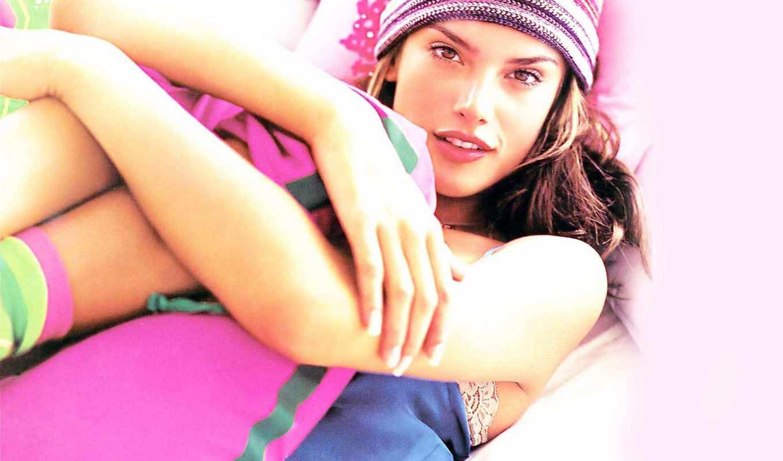 женский, алессандра, celebrities, ambrosio, плакат, розовый,