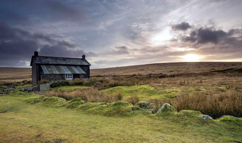 farmhouse, desktop, resolution, природа, landscape,