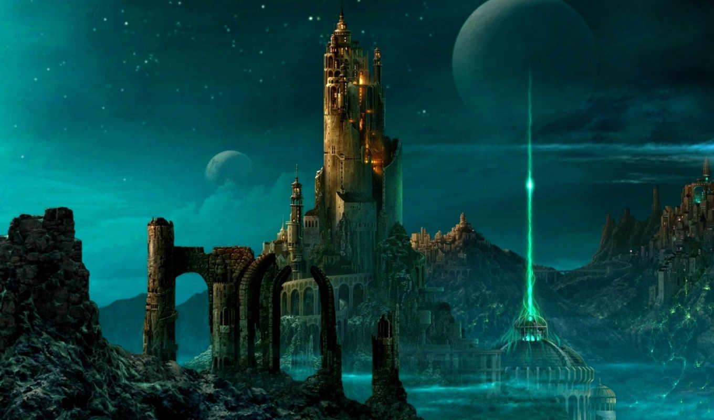 фантастика, other, fantasy, миры, time, world, страница, город, castle,