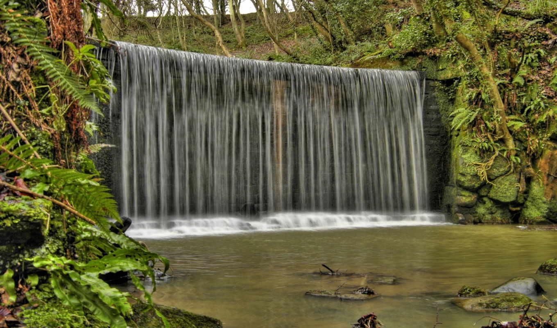 водопады, водопад, cascata, мира, природа, ffvidros, vidro, parede, красивейшие,