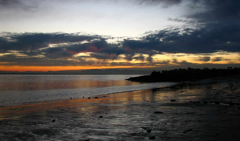 небо, солнце, sea, картинку, nature, landscapes, разрешении, кнопкой, выберите, правой, мыши, добавил,