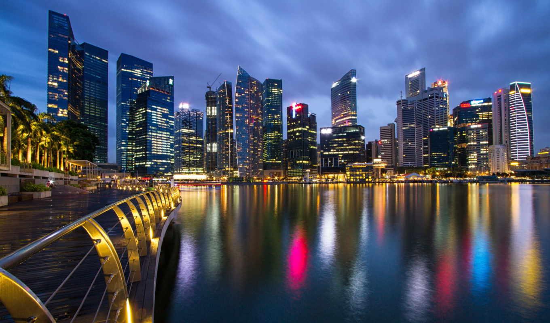 malaysia, singapore, город, state, мегаполис, небоскребы,