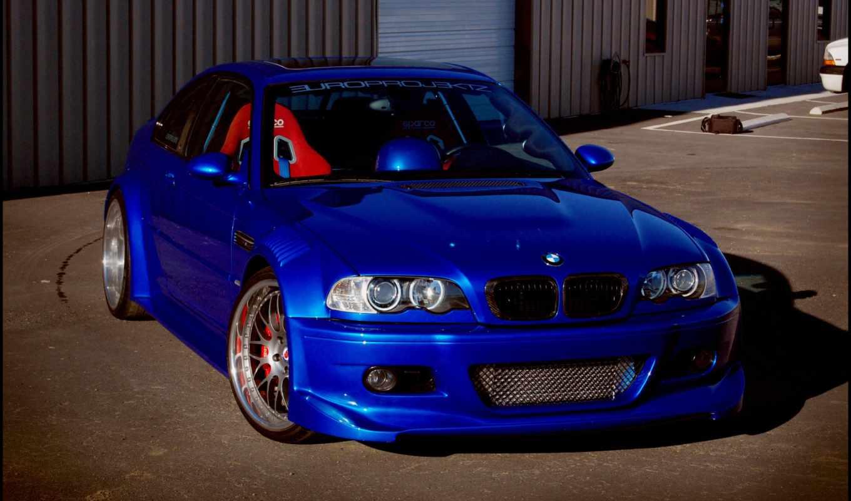 bmw, blue, взгляд, coupe, люк, спереди, building, ролеты, shadow,