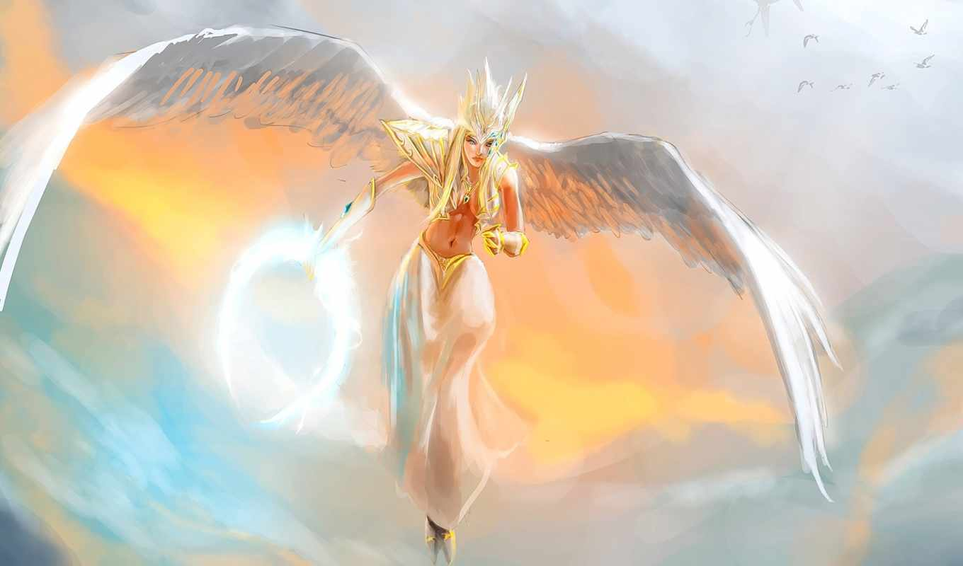 dota, дух, vengeful, art, shendelzare, mage, skywrath,