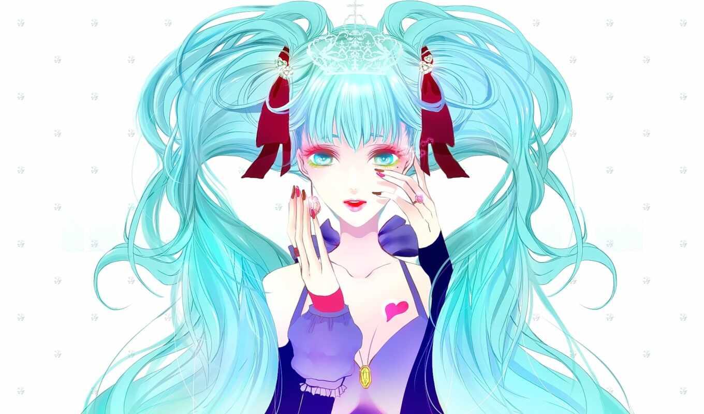 anime, fondos, pantalla, chicas, pelo, hatsune, miku, vocaloid, gratis, fotos, para,