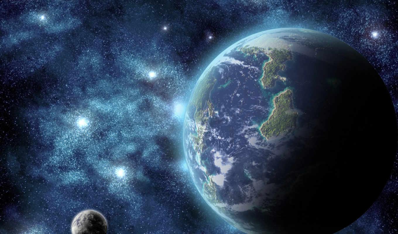 kosmos, space, earth, , art, digital,