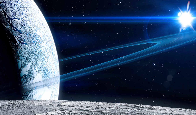 космос, кольца, планета, поверхность, звезда, смотрите, похожие, звезды, экрана, номером, планеты, fullhd, смартфона, монитора, планшета, любого,