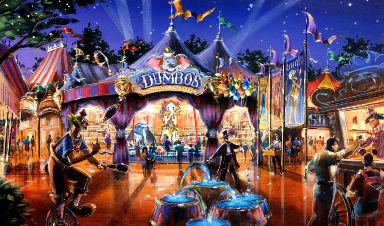 dumbo, fantasyland,
