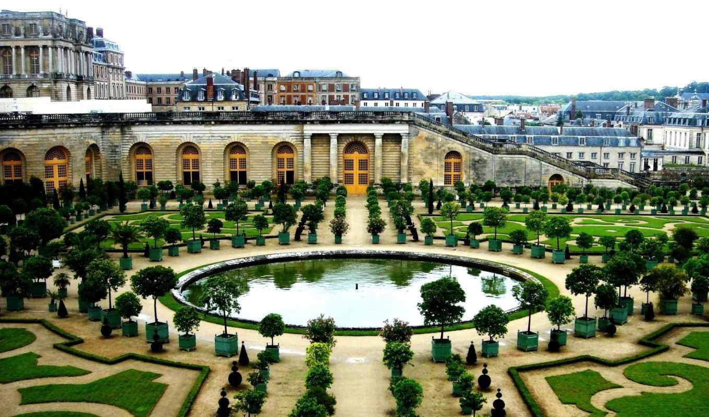 версаль, франция, интерьер, дворец, здания, design,