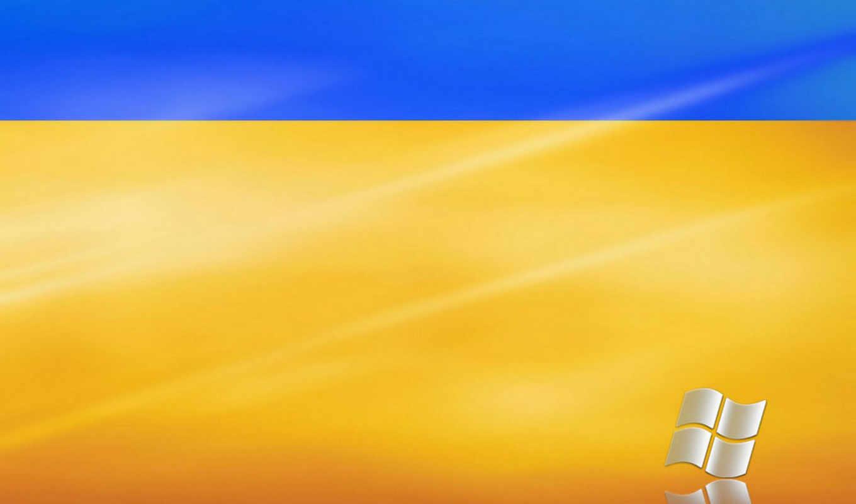 windows, logo, blue, yellow