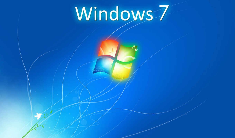 windows, 7, logo