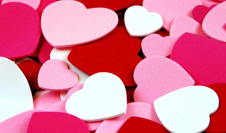 сердечки, сердца, текстура, сердечками, красивые, you, сердец, are,