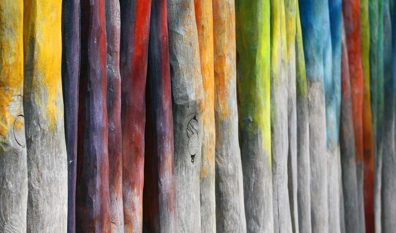 текстура, дерево, доски, палки, краски, текстуры,