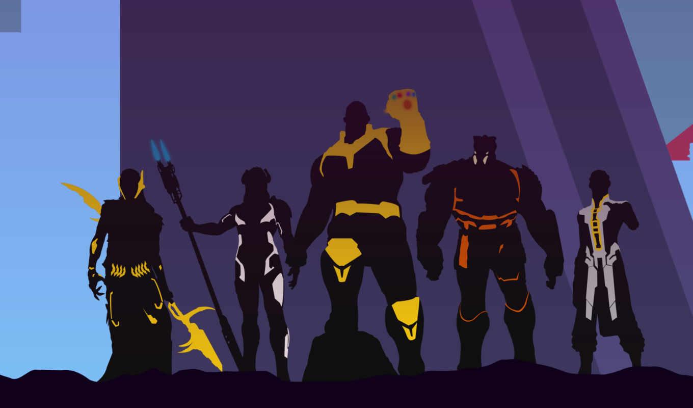 бесконечность, avengers, war, thanos, artwork, marvel,