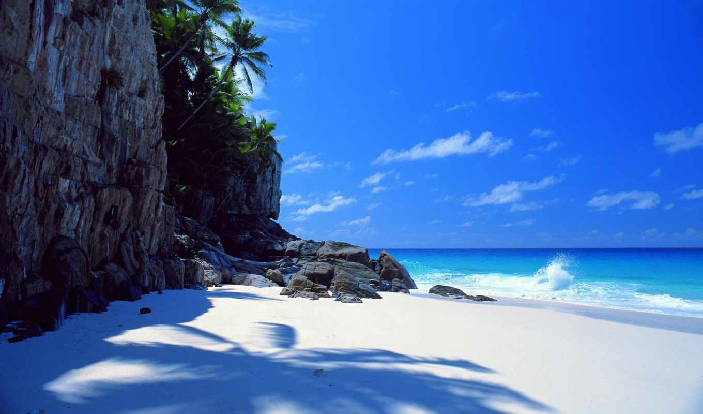 fond, fonds, ecran, bahamas, gratuit, ест, остров, plage,
