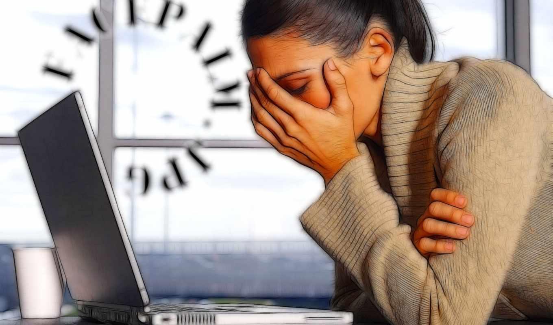 графика, девушка, печаль, ноутбук, кружка