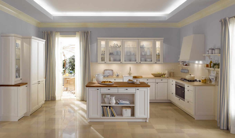 кухни, интерьер, кухню,