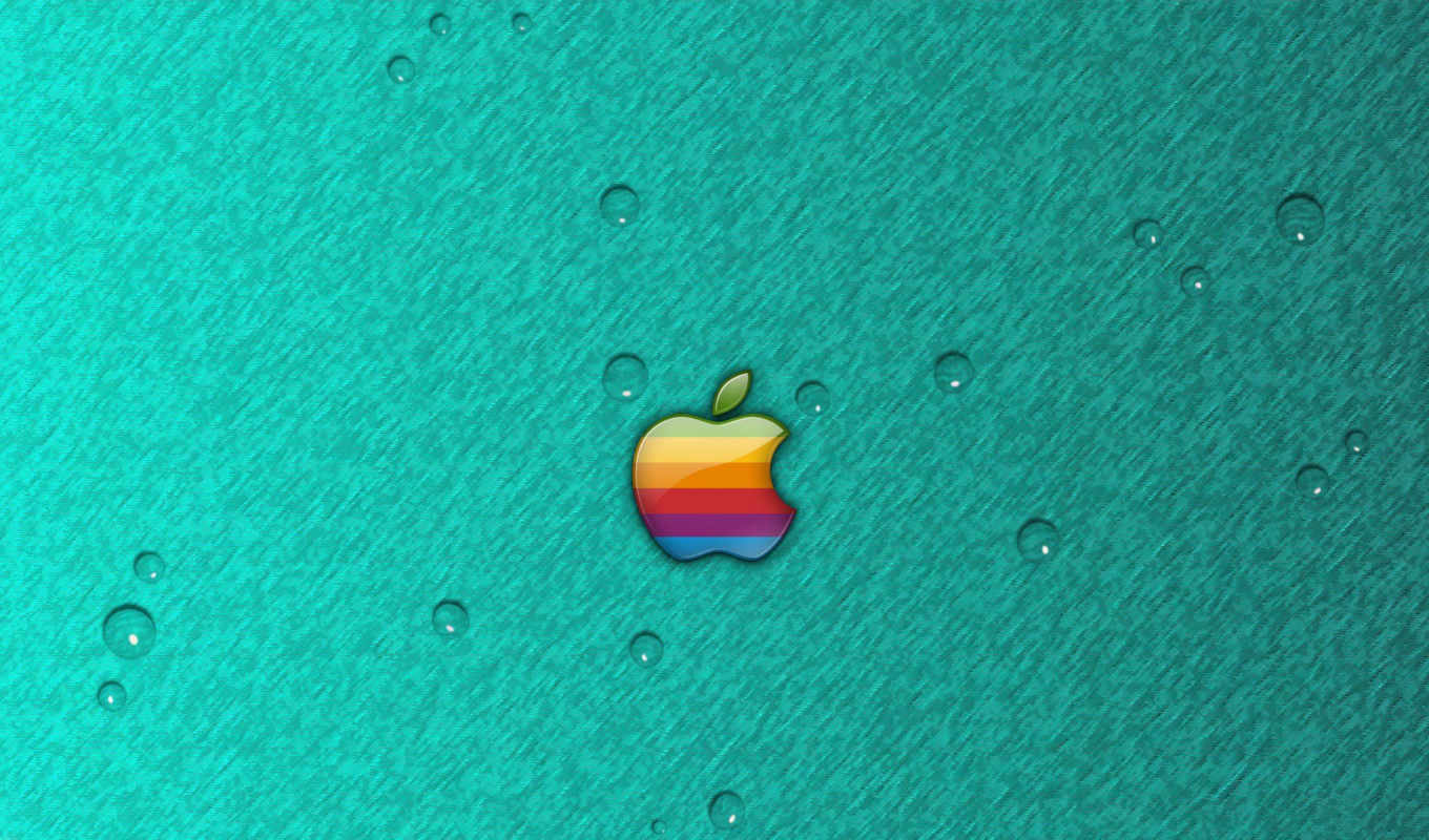 apple, фон, iphone, актриса, камень, emma, water, cyan, drops, mac,