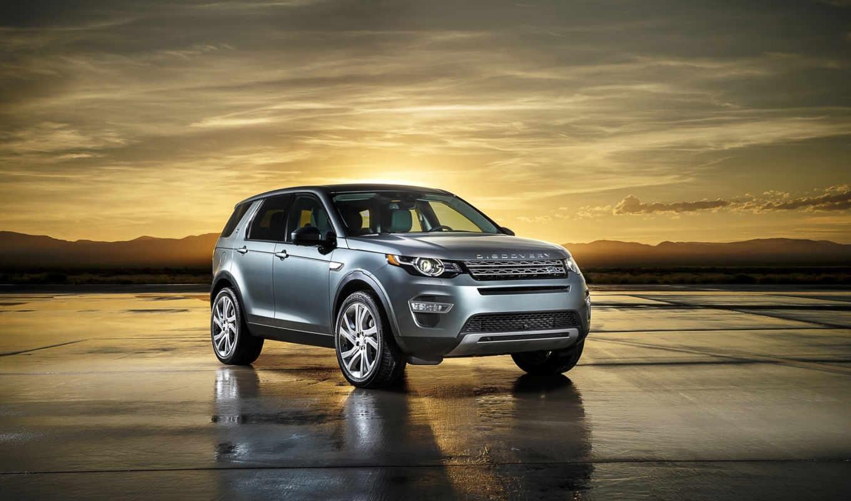 rover, land, discovery, спорт, машине,