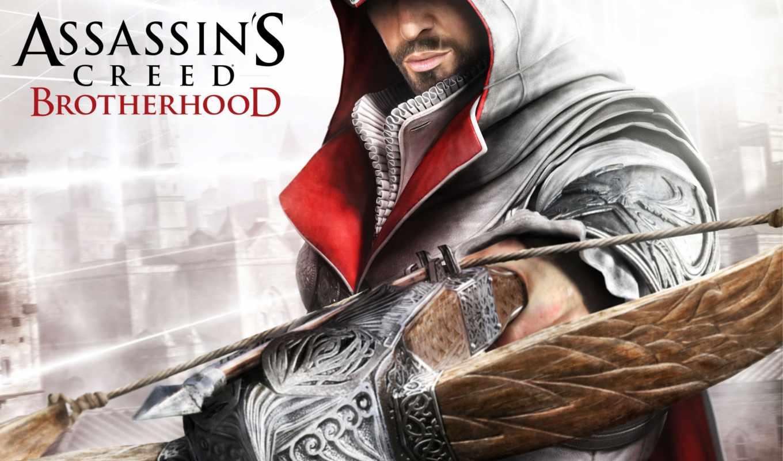 creed, brotherhood, assassin, assassins, игры,