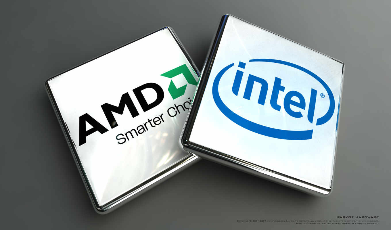 amd, intel, процессор, core, процессоров,