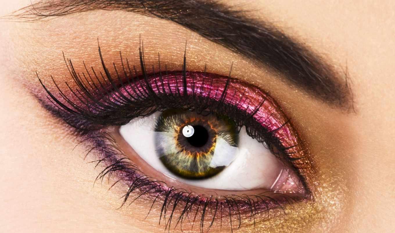 глаз, макияж, тени, ресницы, тушь, eye, зрачок, макро, глаза, картинка, взгляд, göz, красивые,