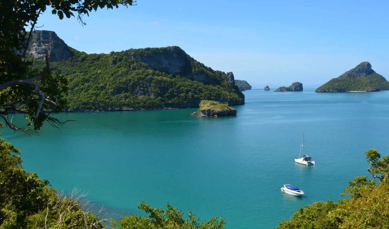 thailand, koh, samui, море, похожие,