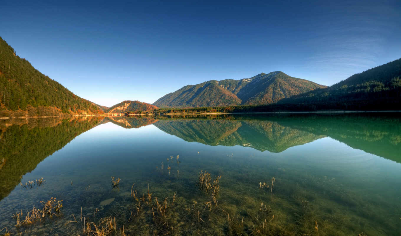 frases, con, небо, озеро, hora, природы, горы, las, imagenes, уголки, вода, необыкновенные, para, que,